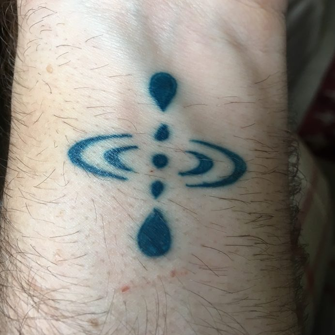 mindfulness symbol tattoo